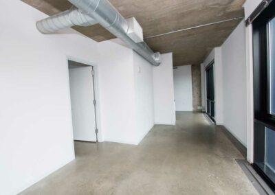 The Hub on Chestnut apartment interior hallways